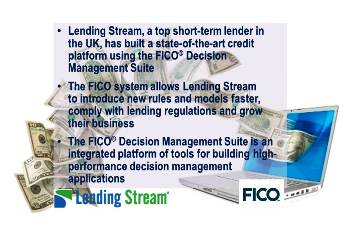 Lending Stream Builds Leading-Edge Credit Platform with FICO Analytic Software