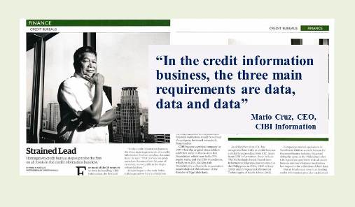 CIBI Information, Inc. on Credit Information as Featured on Forbes Magazine Philippines