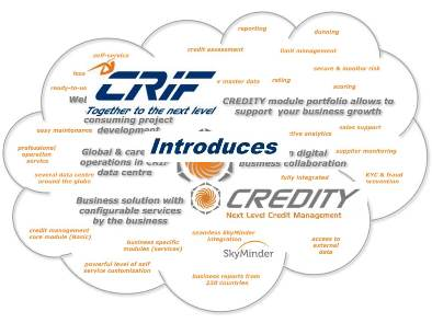 CRIF Germany Launches CREDITY, a new B2B Credit Management Solution