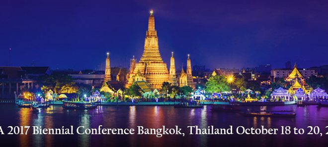 Keep the Date:  BIIA 2017 Biennial Conference Bangkok, Thailand October 18 to 20, 2017