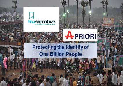 TruNarrative Partners with Apriori to Protect One Billion Indian Citizens in their Fraud, Identity and AML platform