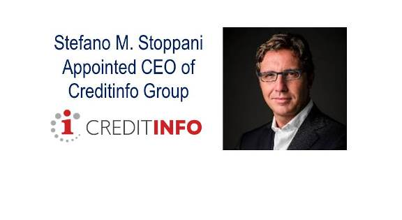 Stefano M. Stoppani Appointed CEO of Creditinfo Group