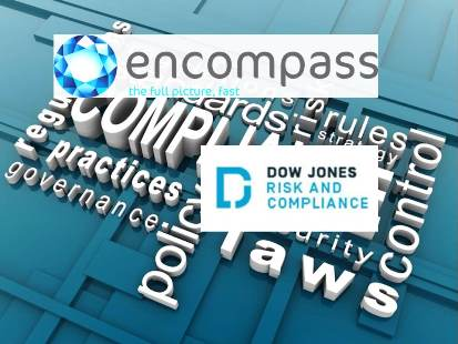 encompass corporation Integrates with Dow Jones Risk & Compliance