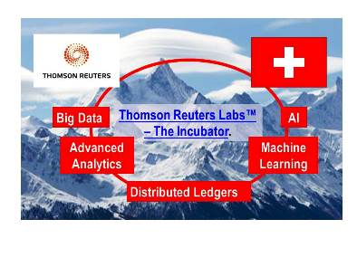 Thomson Reuters Launches Startup Incubator in Switzerland