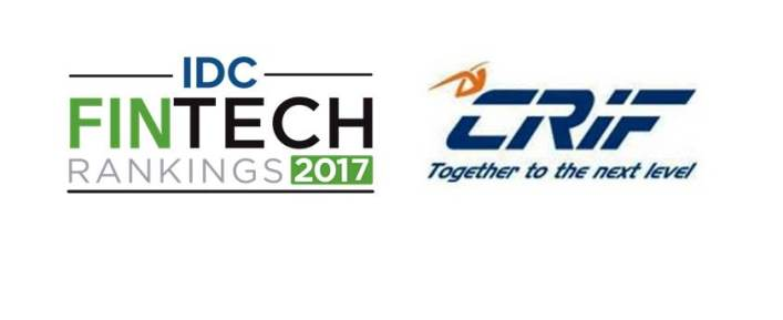 CRIF Takes 33rd Place in the IDC FinTech Rankings 2017