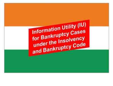 India Public Information Sector:  National e-Governance Services Ltd (NeSL) Designated as Information Utility (IU)