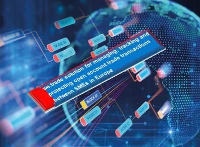 Blockchain Application:  Four Banks Go Live on we.trade Blockchain Platform