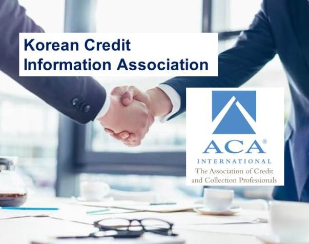 ACA and the Korean Credit Information Association Form Partnership