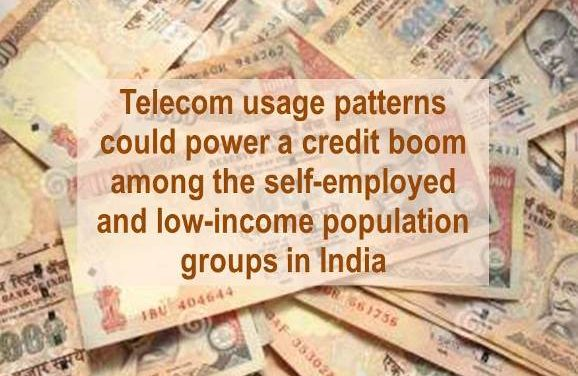 Telecom Regulatory Authority (TRAI) for Allowing Use of Telecom Data to Access Credit