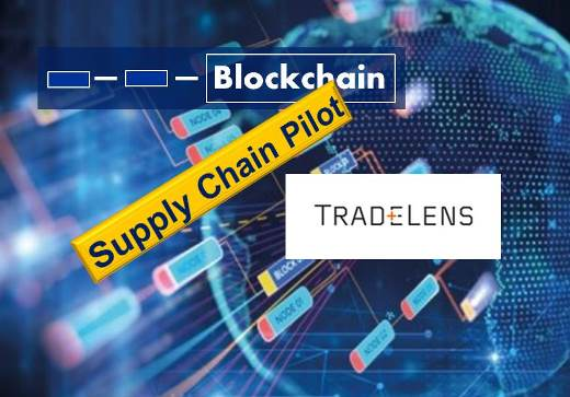 Blockchain Supply Chain Applications: TradeLens Pilot Launched