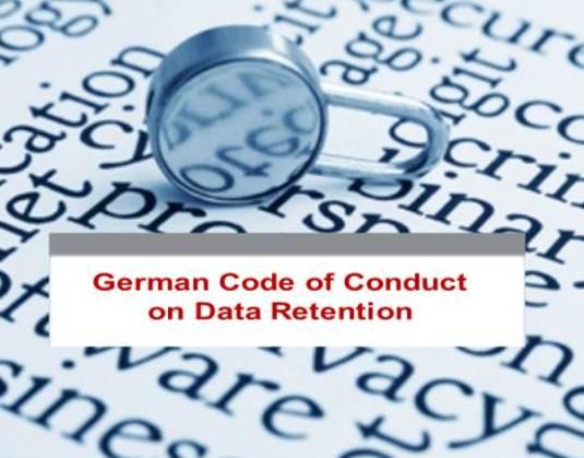 German Code of Conduct on Data Retention
