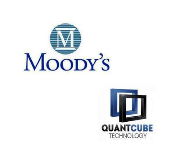 Moody's Announces Investment in QuantCube, AI-Based Predictive Analytics Firm