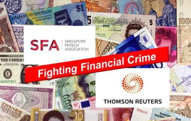 Thomson Reuters Joins Forces with the Singapore FinTech Association to Fight Financial Crime