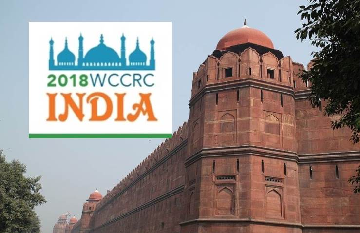 Keep the Date:  WCCRC 2018 New Delhi, India September 23 – 25, 2018
