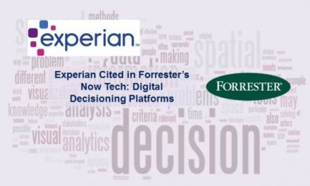 Experian Cited in Now Tech: Digital Decisioning Platforms Report