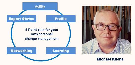 Change Management:  Are You Prepared for Your Own Personal Change Management?