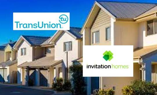 TransUnion Partnership with Invitation Homes