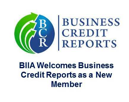 BIIA Welcomes Business Credit Reports (BCR) as a New Member
