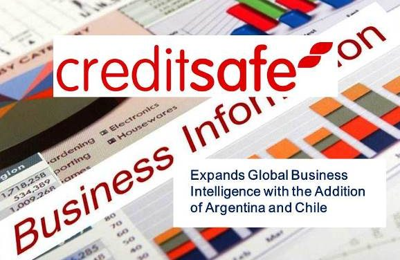 Creditsafe Expands Global Business Intelligence with the Addition of Argentina and Chile
