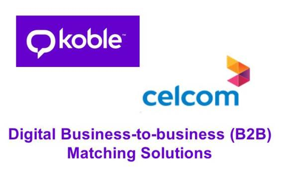 CELCOM, KOBLE TO OFFER B2B MATCHING SOLUTIONS IN ASIA