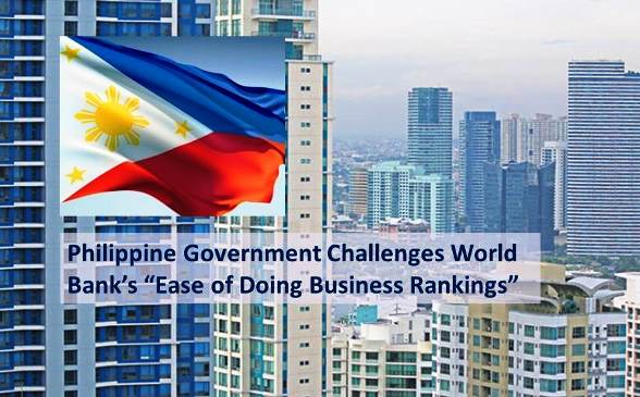 Philippines Downgraded in the World Bank's Ease of Doing Business Rankings