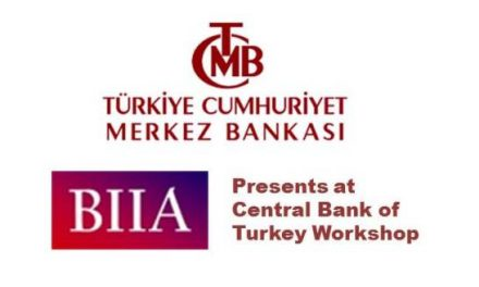 BIIA Presents at Central Bank of Turkey Workshop