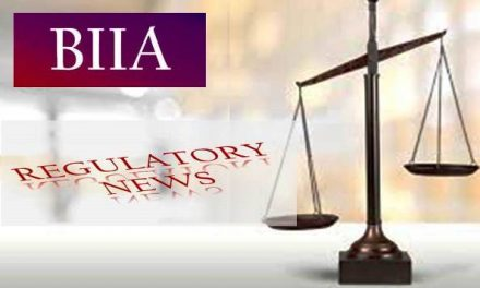 BIIA Regulatory Newsletter October 2019 – 37th Edition