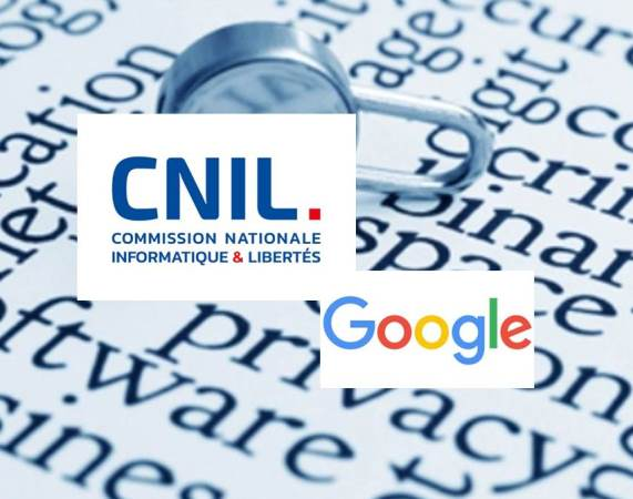 Data Protection:  France CNIL Fines Google for Lack of Transparency