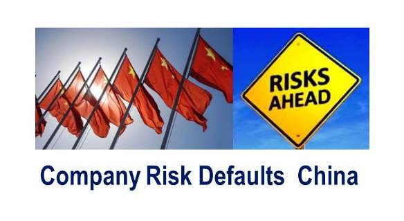 China Credit Climate:  Higher Company Default Risk