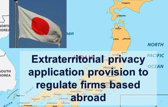 Japan Eyes Applying Domestic Law to GAFA