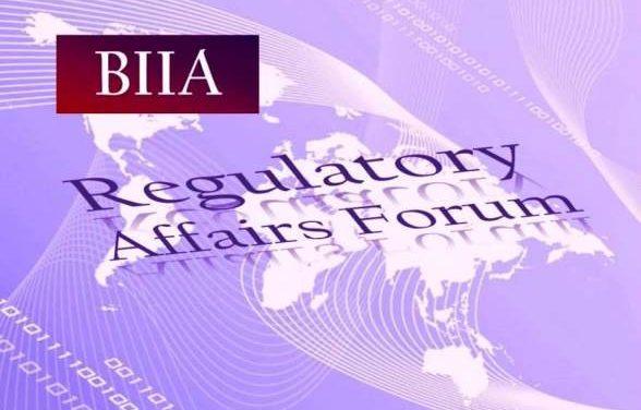 BIIA Launches Regulatory Affairs Forum