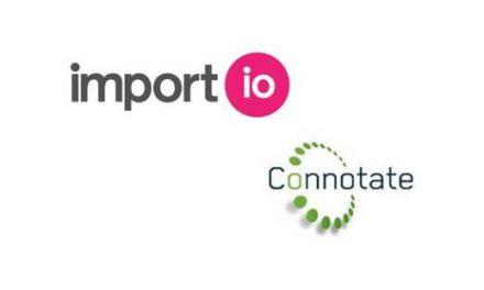 Import.io Acquires Connotate, Extending Web Data Integration Market Leadership