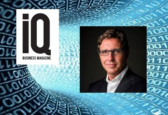 IQ Magazine Interview in Lithuania with Stefano Stoppani, CEO of Creditinfo