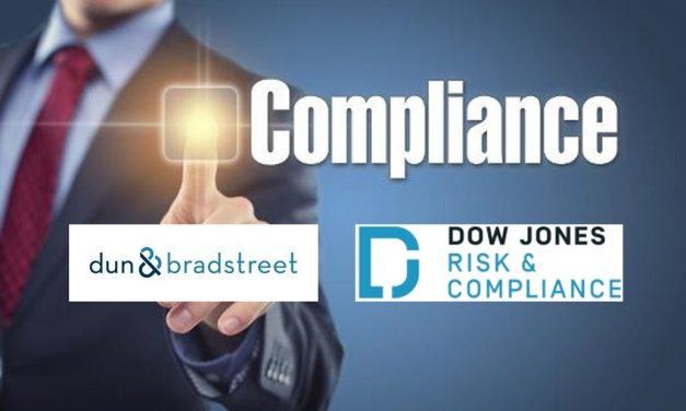 Dow Jones Risk & Compliance and Dun & Bradstreet Partner on Third-party Risk Data Solutions