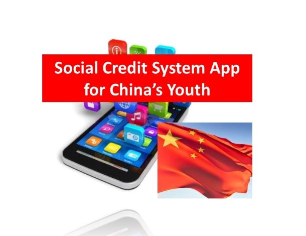 CY Credit Building Social Credit System App for China's Youth