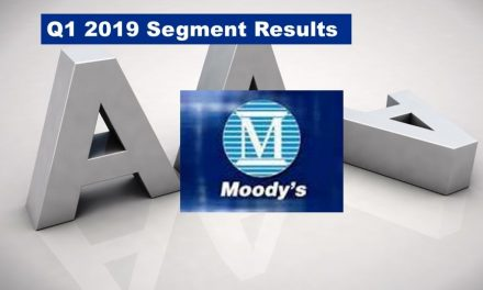 Moody's Q1 2019 Revenue Growth Segment Analysis