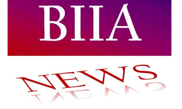 BIIA Newsletter November I – 2019 Edition