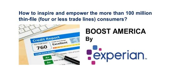 Experian Boost Campaign a Gamechanger for Consumers