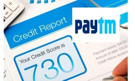 Paytm Launches Credit Score Check Facility