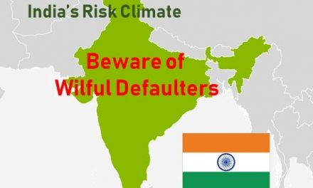 India's Credit Climate:  Wilful Defaults Has Surged by Rs. 43,000 Crore in 2018