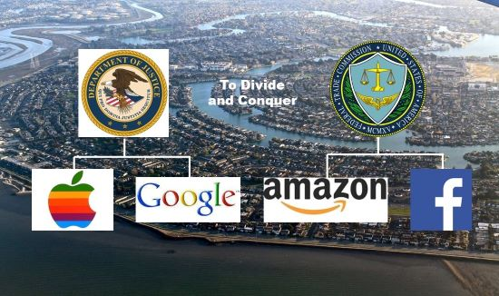 Antitrust Action Looms for US Silicon Valley Tech Giants