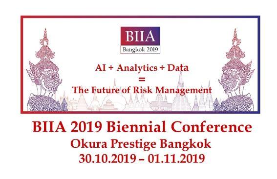 BIIA 2019 Biennial Conference, October 30th – November 01st 2019, Bangkok, Thailand
