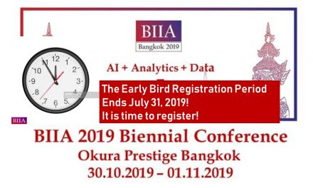 BIIA 2019 Biennial Conference Early Bird Period Ends July 31st, 2019