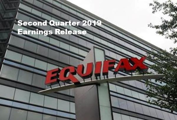 Equifax Q2 2019 U.S. Revenue Up 3% (local currency basis)