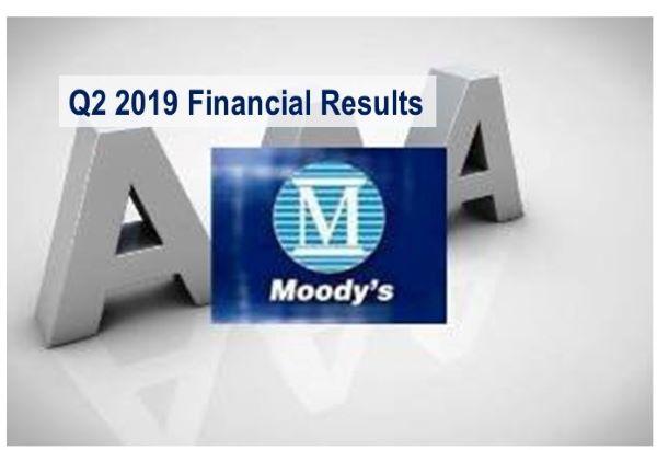 Moody's Q2 2019 Revenues Up 3%