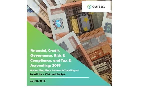 Outsell Inc. Estimates Global Market Size for Financial, Credit, Governance, Risk & Compliance, and Tax & Accounting at US$72.9bn