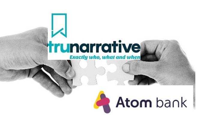 News from TruNarrative: Partnership with Atom Bank
