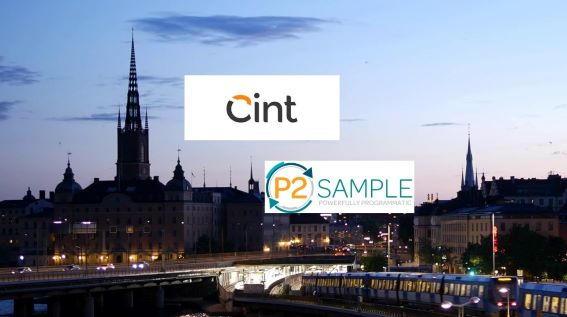 Cint Acquires P2Sample to Expand Its Audience Reach and Enhance Powerful Programmatic Capabilities