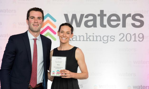 Waters Rankings 2019: S&P Global Market Intelligence Named Best Alternative Data Provider