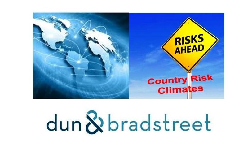 Country Risk Climates:  Dun & Bradstreet's Q2 2019 Industry Delinquency and Failures Report
